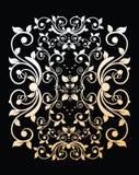 ładnego ornamentu retro rocznika tapeta Obraz Stock