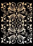 ładnego ornamentu retro rocznika tapeta Fotografia Royalty Free