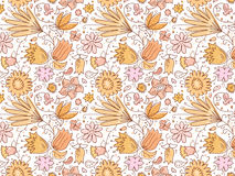 Ładni lato kwiaty Zdjęcia Stock