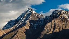 Ładni otoczenia Langar wioska w Tajikistan Zdjęcia Stock