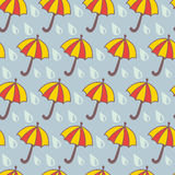 Ładni parasole Zdjęcia Royalty Free