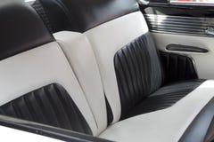 Ładni tylne siedzenia w samochodzie Fotografia Stock