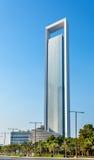 ADNOC Headquarters skyscraper in Abu Dhabi Stock Image