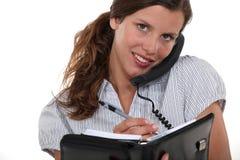 Ładny bizneswoman Fotografia Stock