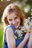ładny blondynka portret Zdjęcie Stock