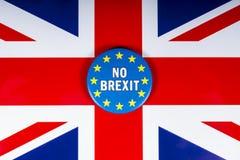 Żadny Brexit Zlany królestwo zdjęcia royalty free