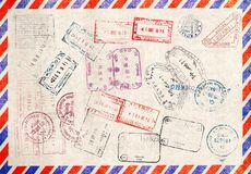 żadny byli mogą wektor ilustracyjny paszportowy postanowienie ważący wizerunek straty wielkościowi znaczki Obrazy Stock