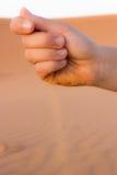 Żadny czas w pustyni Zdjęcie Royalty Free