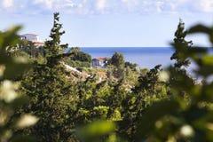 Ładny denny widok na Crete w Grecja Fotografia Royalty Free