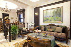 Ładny dom Obrazy Royalty Free