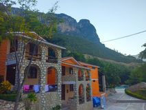 Ładny dom góra w Meksyk Fotografia Royalty Free