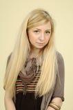 ładny dziewczyna portret Fotografia Royalty Free