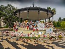 Ładny, Francja przewozi samochodem terroryzm obrazy royalty free