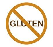 Żadny gluten ilustrujący i barwiący Zdjęcie Stock