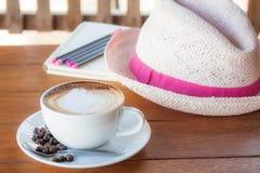 Ładny i pokój czas dla kawy Zdjęcie Royalty Free