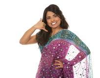 Indiańska kobieta Obrazy Royalty Free