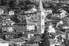 Ładny Jelsa w Hvar w Chorwacja Obrazy Royalty Free