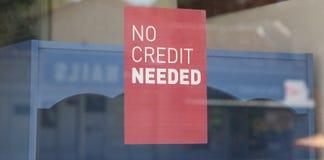 Żadny kredyt Potrzebujący obrazy royalty free