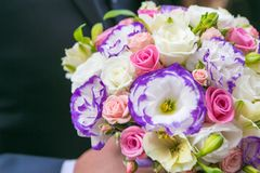 Ładny kwiatu bukiet fotografia royalty free