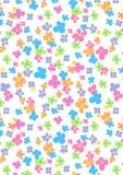Ładny kwiatu wzór. Obraz Royalty Free