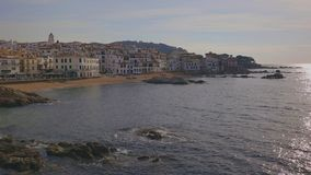 ?adny ma?y Hiszpa?ski miasteczko w Costa Brava w Catalonia calella de Palafrugell zbiory