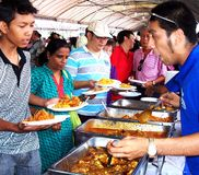 Ładny Malezyjski Karmowy jarmark Obraz Royalty Free