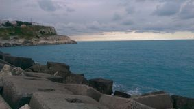 ładny morze Fotografia Stock
