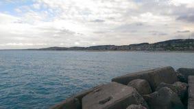 ładny morze Zdjęcia Royalty Free