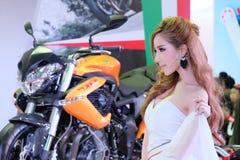 ładny motorshow 2014 Fotografia Stock