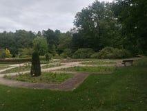 Ładny park w Wetteren, Belgia obraz royalty free