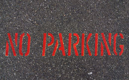 Żadny parking Zdjęcia Stock