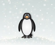 Ładny pingwin Fotografia Royalty Free