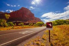 Żadny polowanie, kapitału Rafowy park narodowy, Utah, usa Zdjęcia Royalty Free