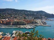 ładny port Obraz Royalty Free