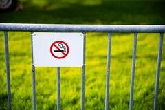 żadny szyldowy dymienie Obraz Royalty Free