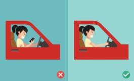 Żadny texting, Żadny opowiadać Obrazy Stock