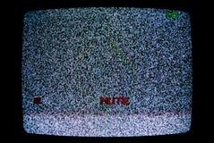 Żadny TV sygnał fotografia royalty free