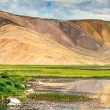 Ładny widok Pamir w Tajikistan Obrazy Royalty Free