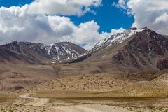 Ładny widok Pamir w Tajikistan Fotografia Stock