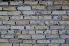 Żadny wielki czerep stary ściana z cegieł Fotografia Royalty Free