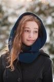 Ado à la mode d'hiver Photographie stock