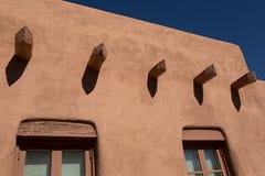 Adobe在圣菲,新墨西哥 图库摄影