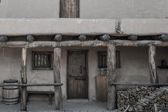 Adobe - исторический старый форт Колорадо склонностей стоковое изображение rf