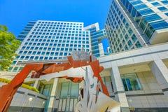 Adobe размещает штаб скульптура стоковые изображения rf