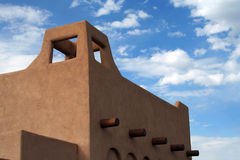 Adobe Abode. A southwestern style building Stock Photo
