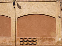 An adobe architecture  in Kashan Iran Royalty Free Stock Image