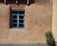 Adobe-Architektur, New Mexiko Stockfotos