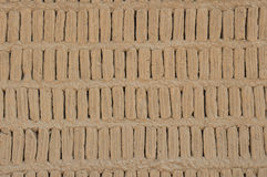 Adobe blocks from a Huaca, Miraflores, Peru Stock Photo