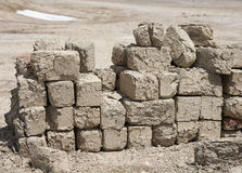 Adobe brick Stock Photo