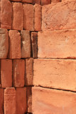 Adobe Brick Pile Royalty Free Stock Photography